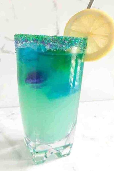 Magical Mermaid Lemondae Mocktail
