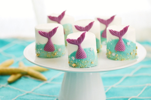 Cute Mermaid Tail Sweets