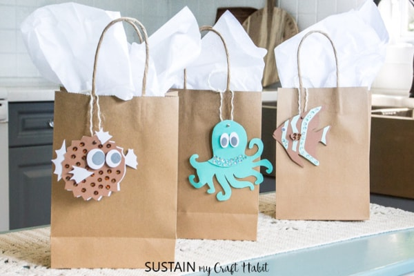 DIY Under The Sea Gift Bags