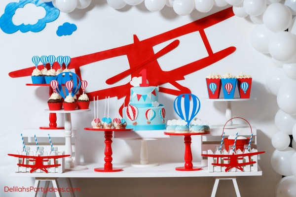 Aviation Airplane Party Theme
