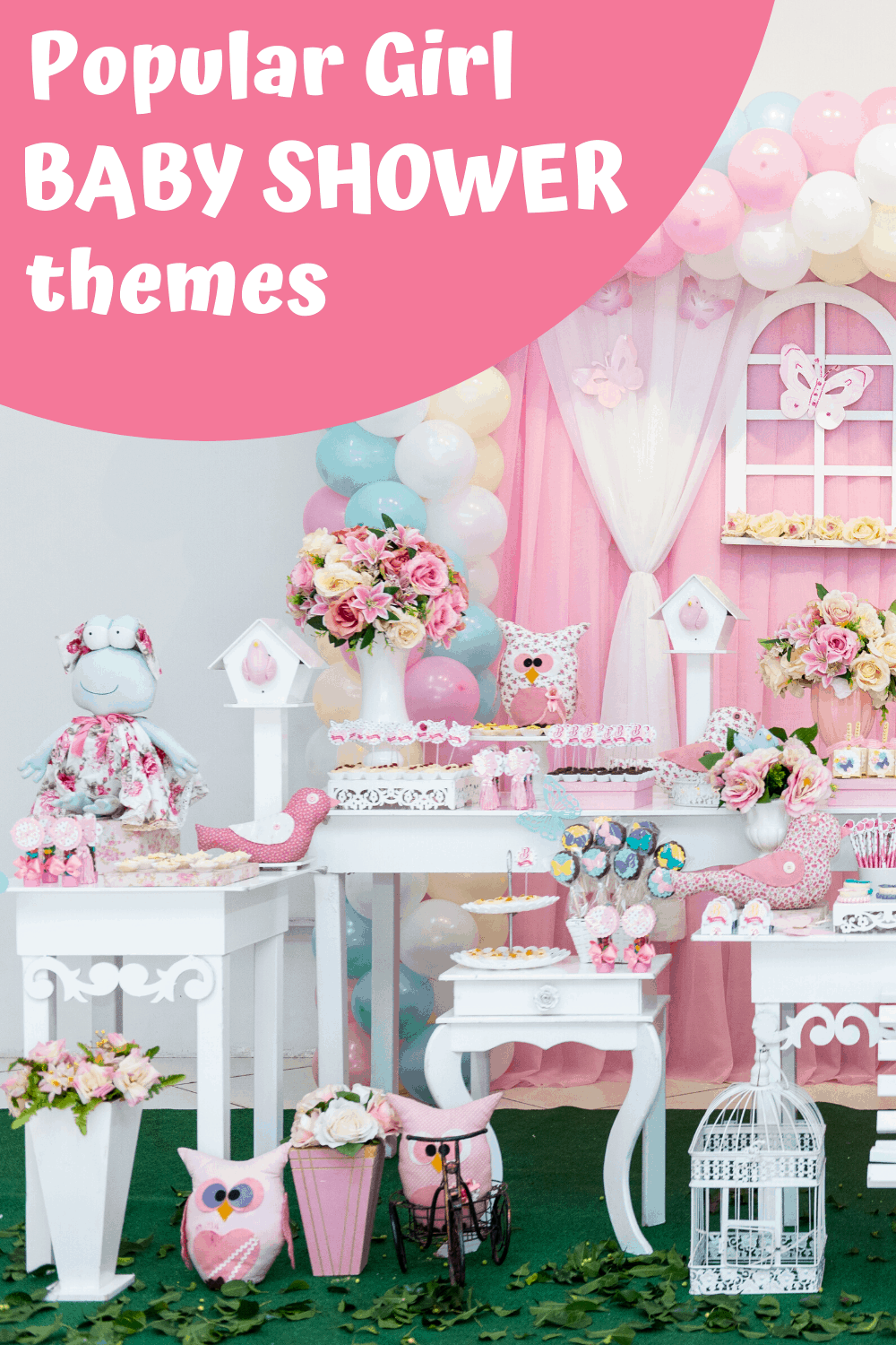 Popular Girl Bay Shower Themes