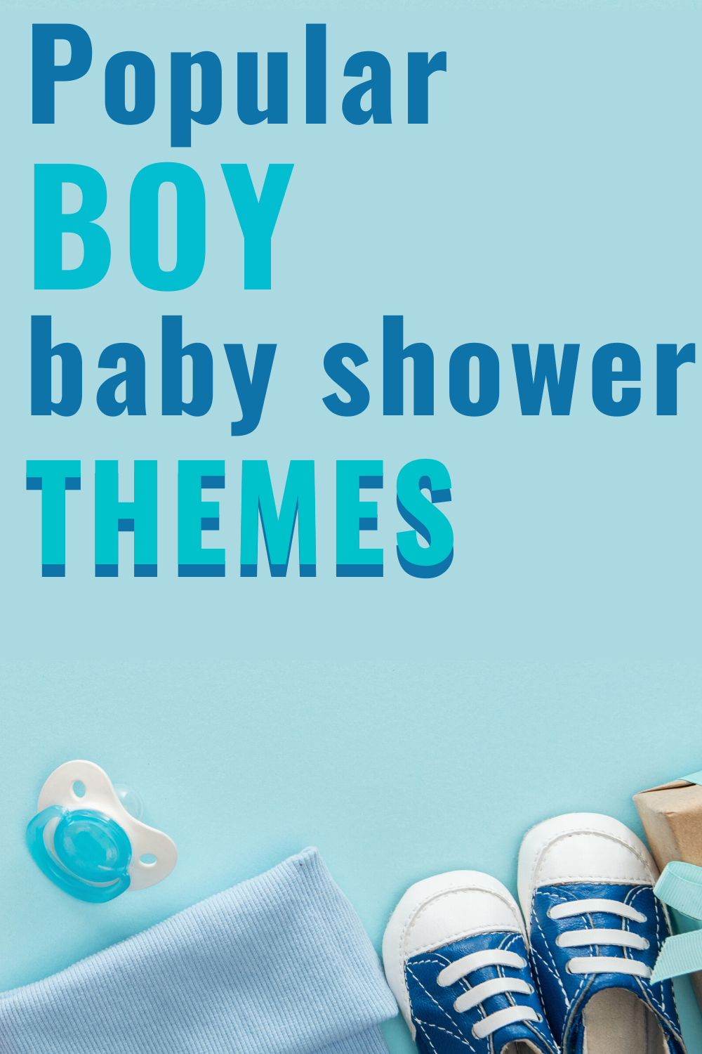 Popular Baby Shower Themes for boys