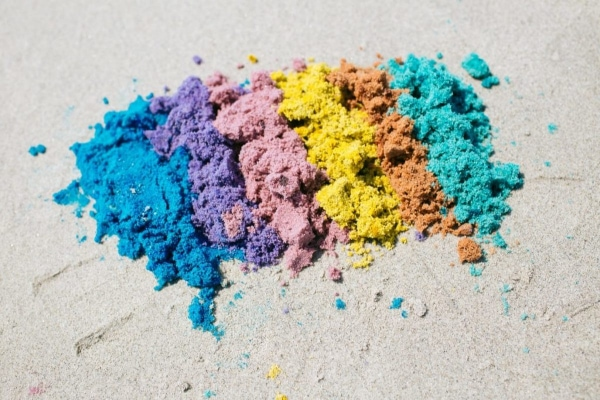 Make you own colored sand