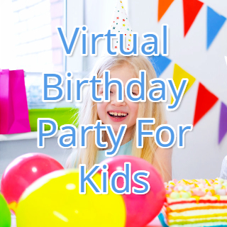 virtual birthday party for kids