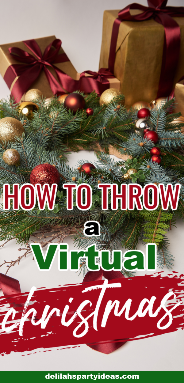 How to throw a Virtual Christmas pin image