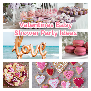Valentines Baby Shower Party Ideas-f