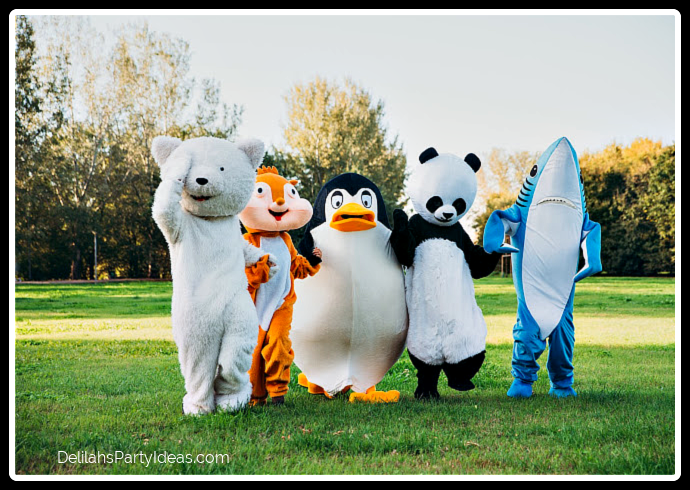 Dress up party animal costumes