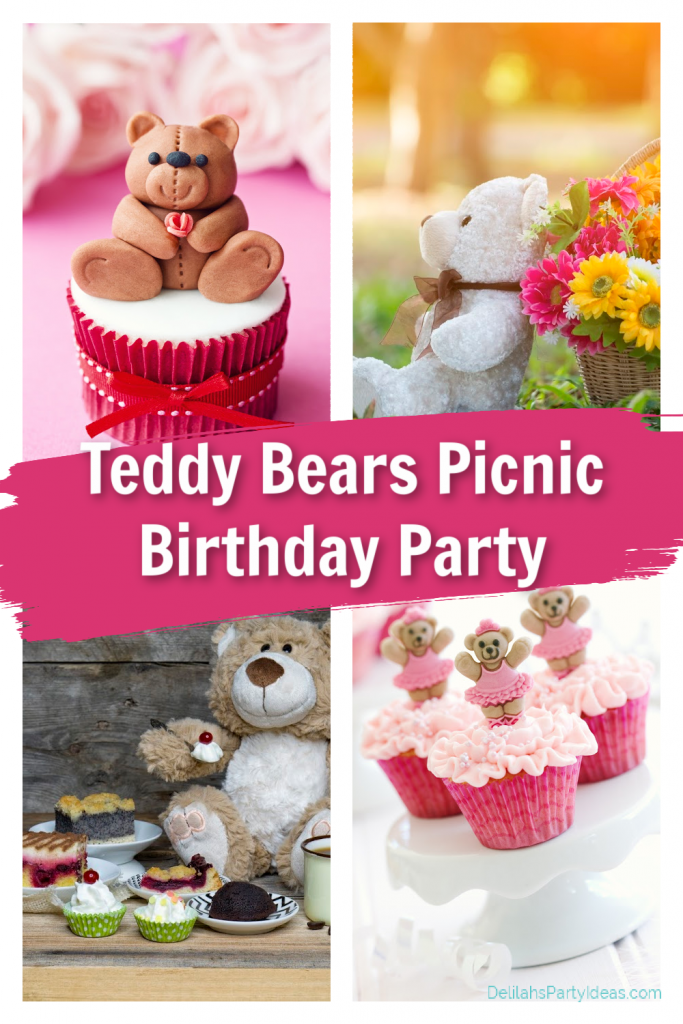 Collage of Teddy Bear Picnic Images