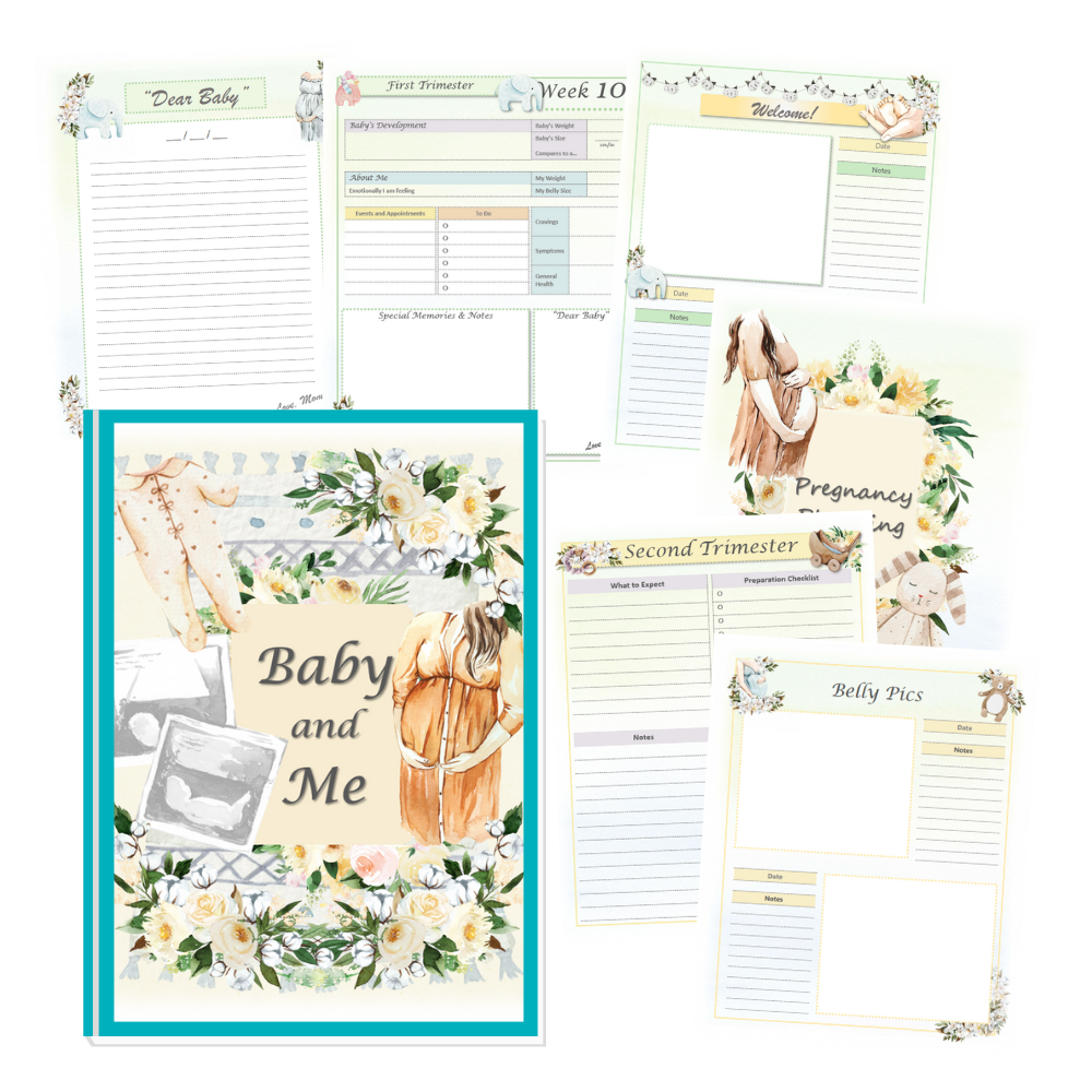 Baby and me planner