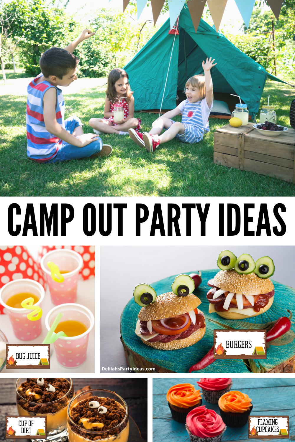 Camp Out Party Ideas