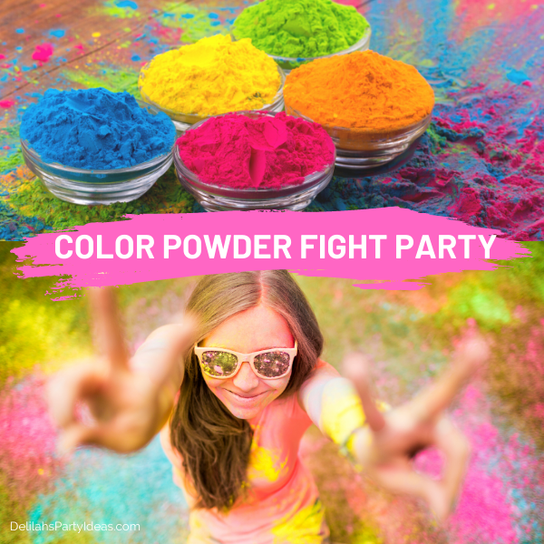 Color Powder Fight Party