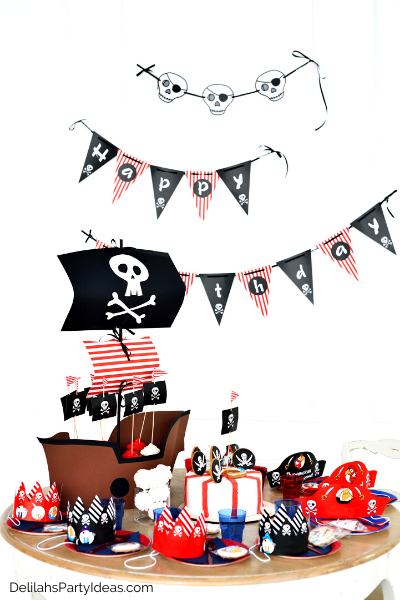 Kids Pirate Party Decorations