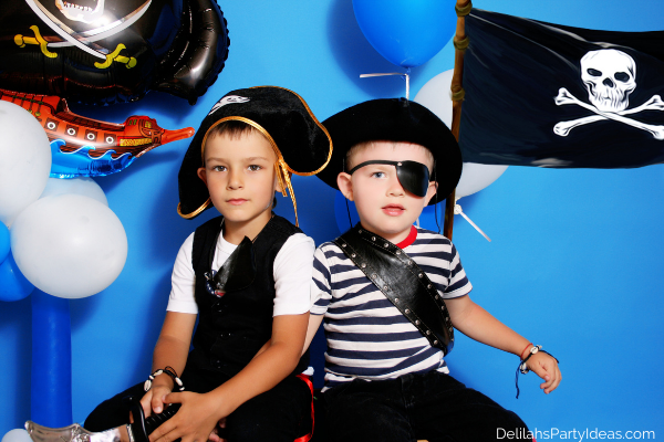 Kids Pirate Party costumes
