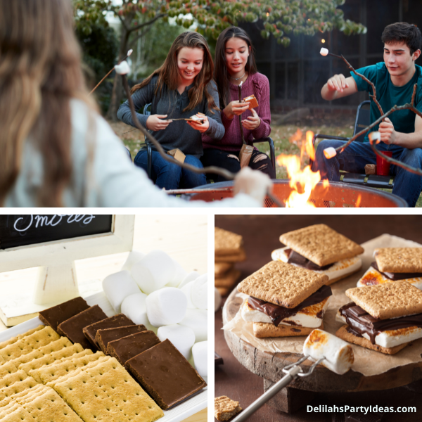 Smores for a camp out party