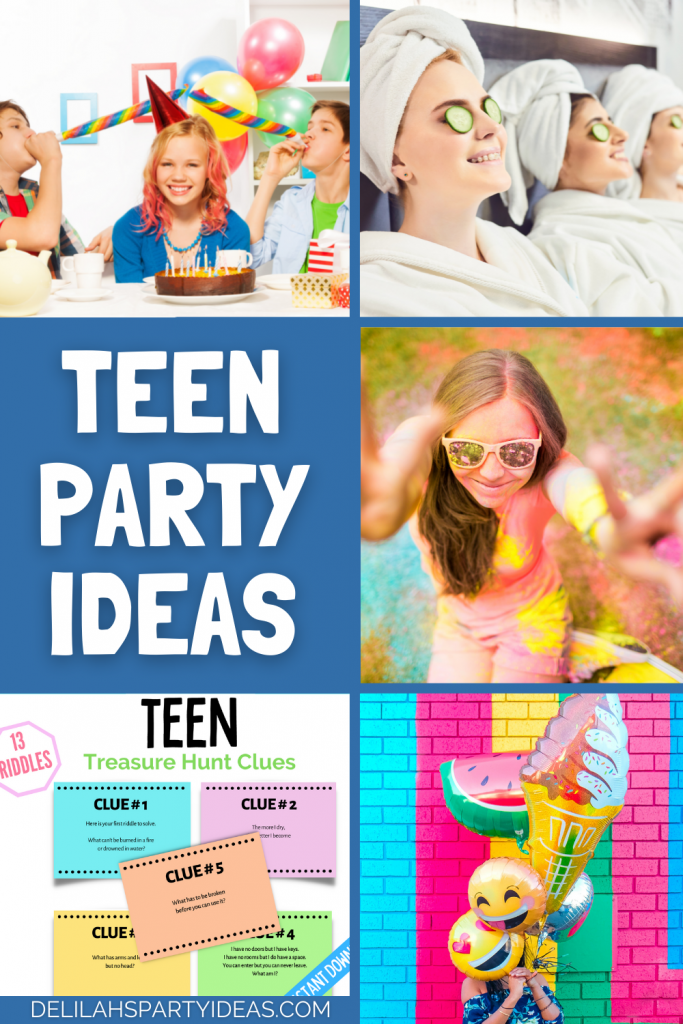 Teen Party Ideas, having a teenage birthday party then these ideas will definitely inspire you.