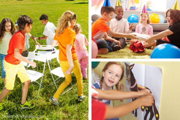 Budget Friendly Kids Party Games