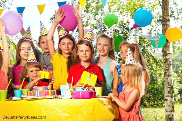 Budgets Friendly outdoor kids party