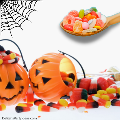 Halloween candy game