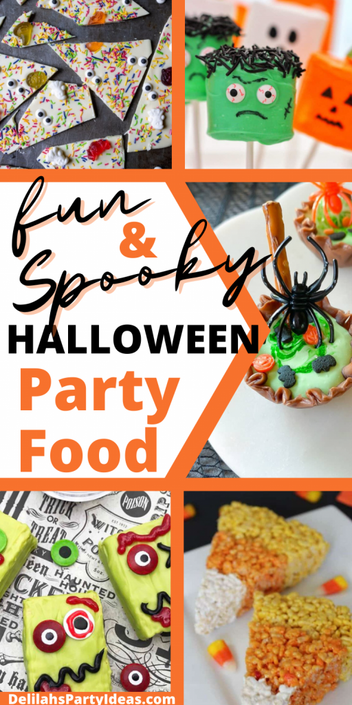 Fun and Spooky Halloween party Foods