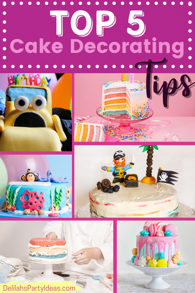 Top 5 Cake Decorating Tips