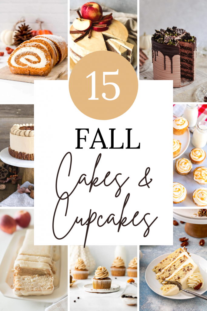 15 Fall Cakes and Cupcakes