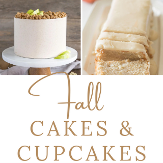 Fall Cakes and Cupcakes