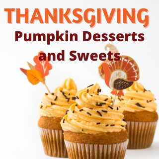 Thanksgiving Pumpkin Desserts and sweets